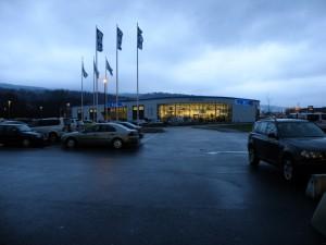 The Bitema megastore in Mjøndalen